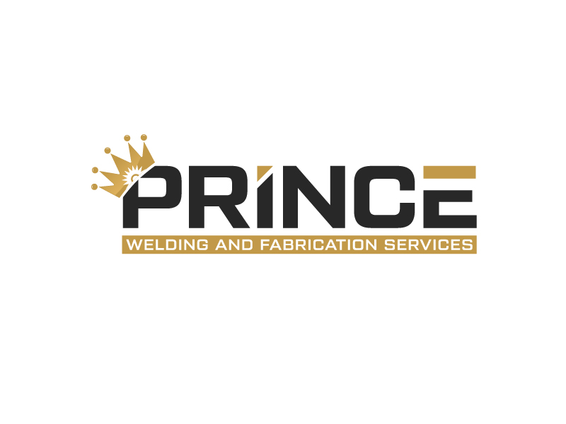 Prince Welding and Fabrication Services logo design by gateout