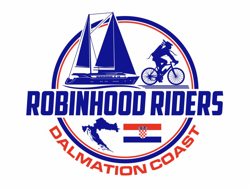 Robinhood Riders Dalmation Coast logo design by agus