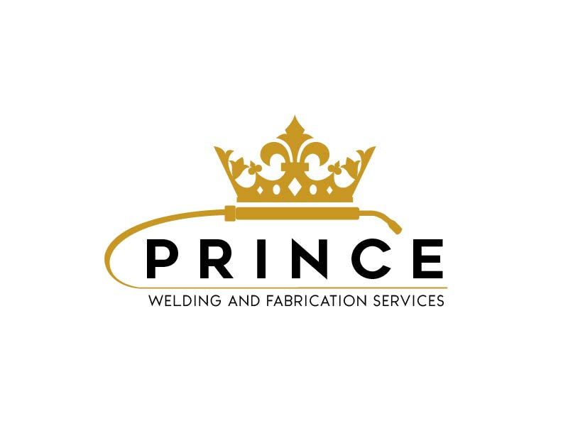 Prince Welding and Fabrication Services logo design by usef44