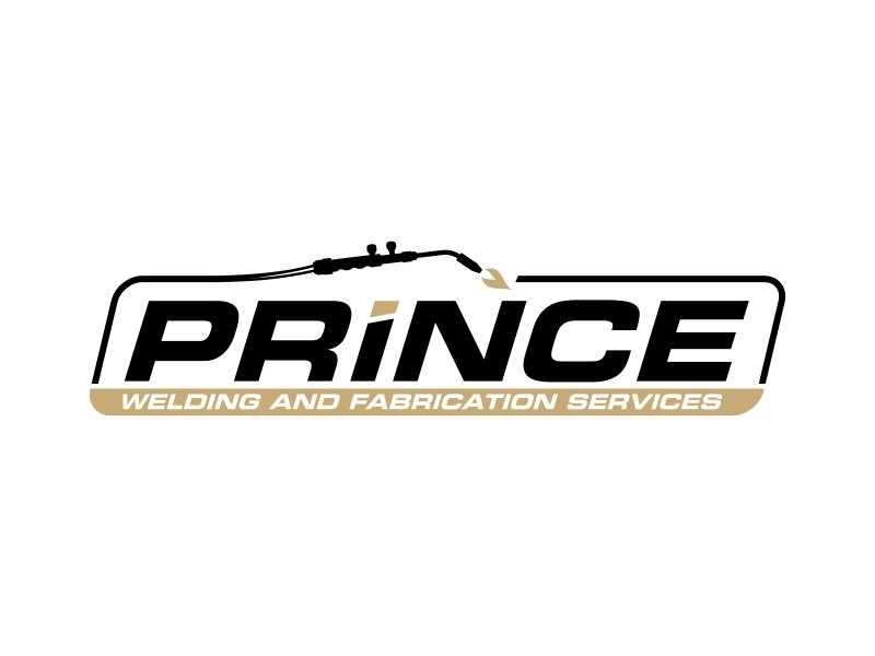 Prince Welding and Fabrication Services logo design by ingepro