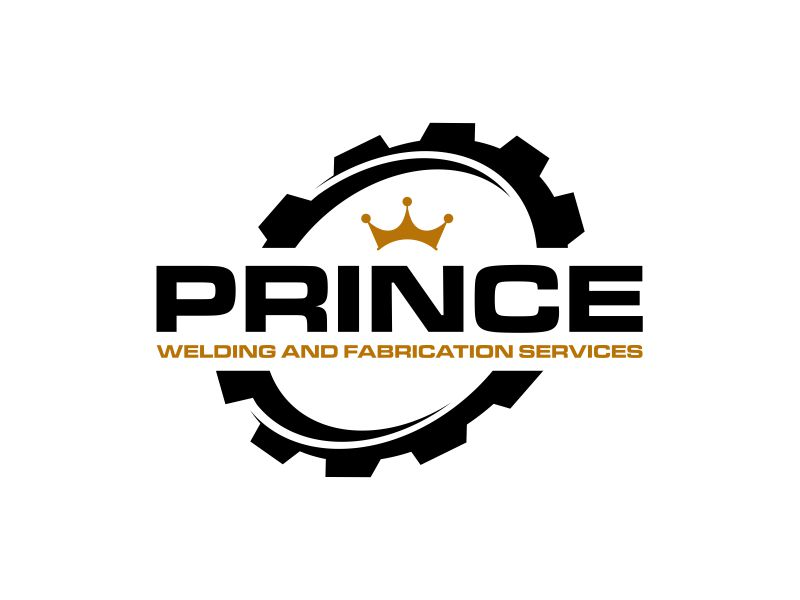 Prince Welding and Fabrication Services logo design by Barkah