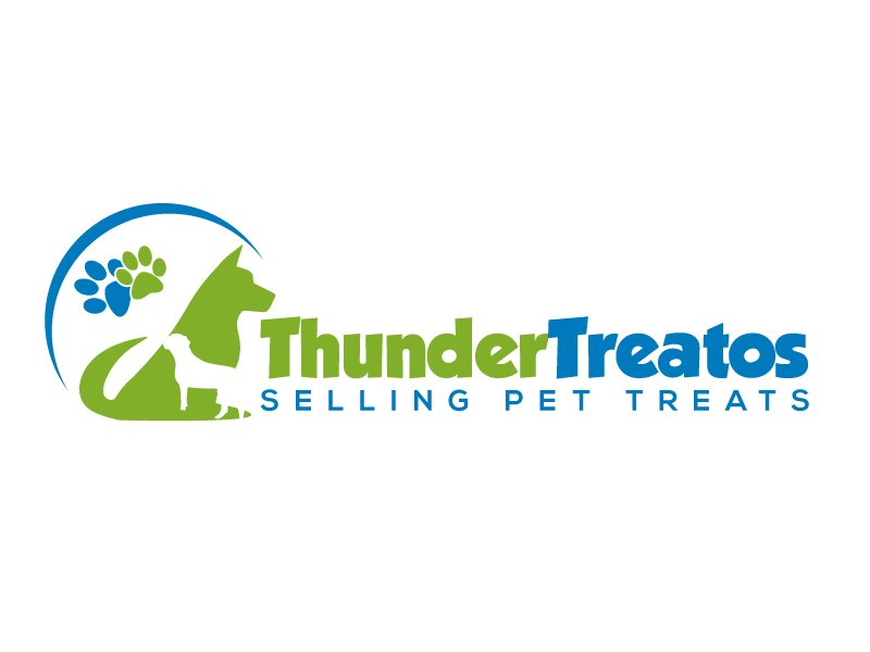Thunder Treatos logo design by karjen