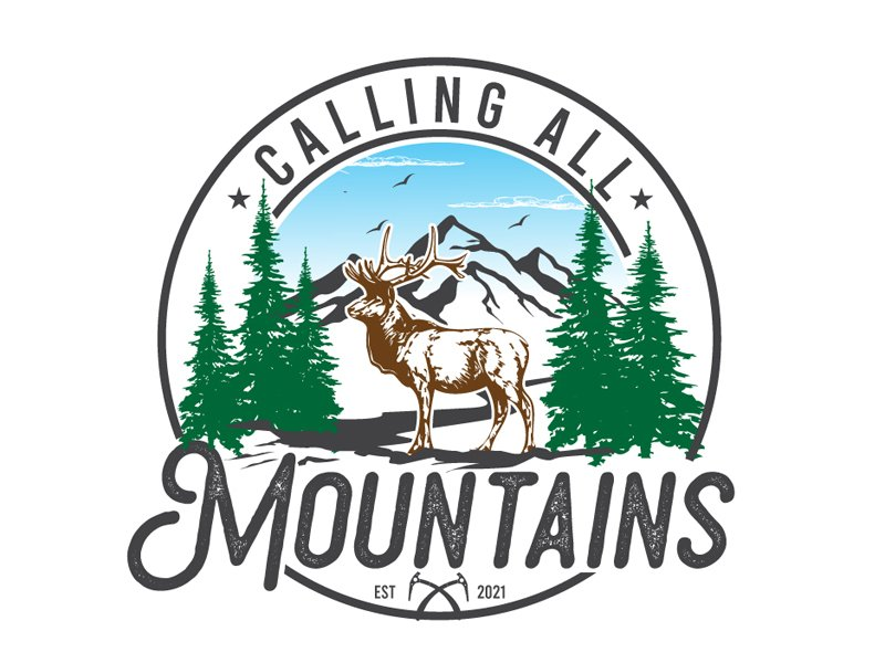 Calling All Mountains Logo Design