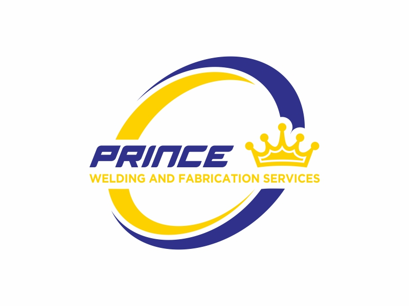 Prince Welding and Fabrication Services logo design by banaspati