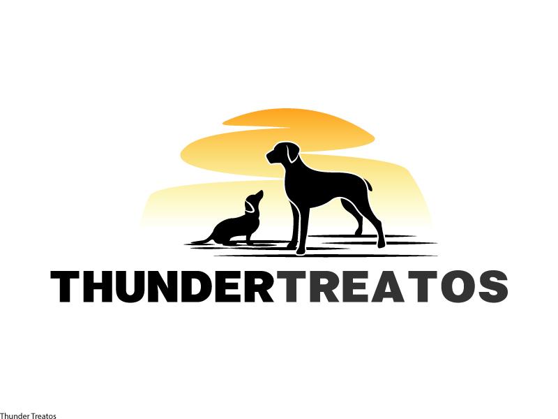 Thunder Treatos logo design by Kirito
