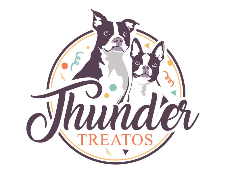 Thunder Treatos logo design by DreamLogoDesign