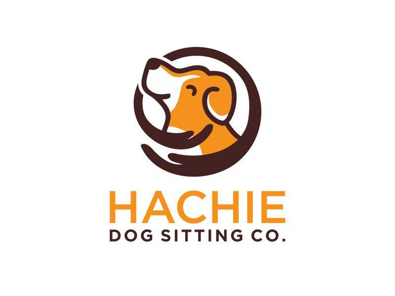 Hachie Dog Sitting Co. Logo Design