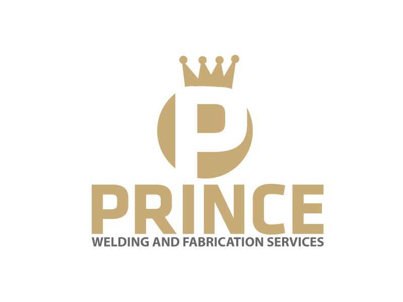 Prince Welding and Fabrication Services logo design by webmall