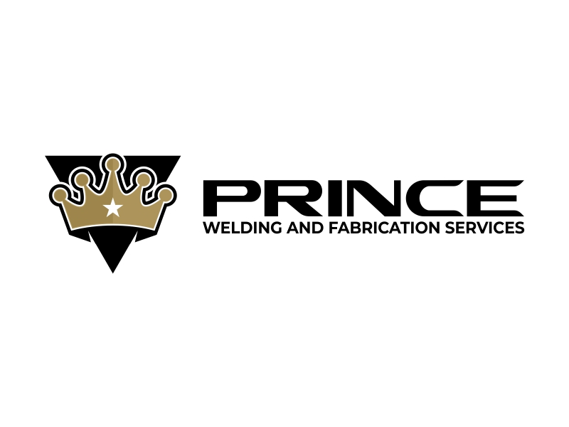 Prince Welding and Fabrication Services logo design by ekitessar