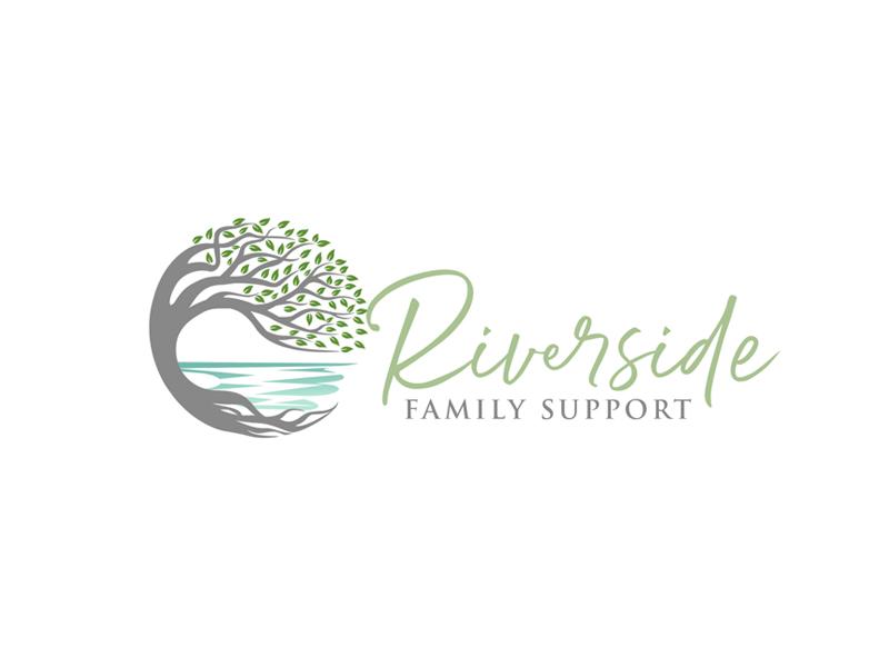 Riverside Family Support Logo Design