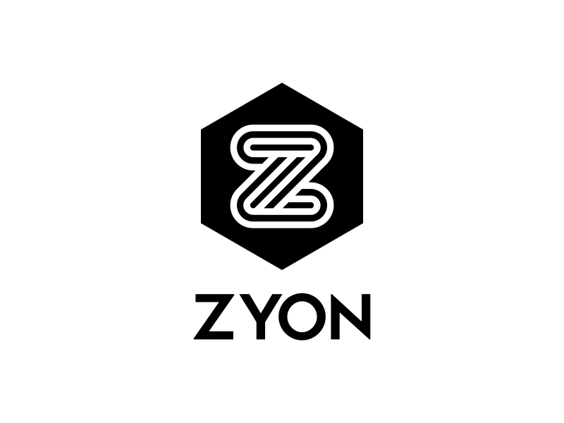 ZYON logo design by ekitessar
