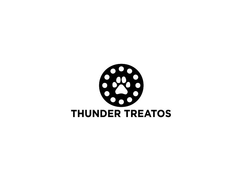 Thunder Treatos logo design by Greenlight