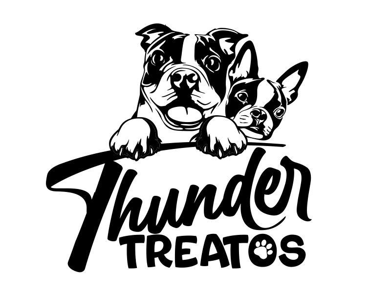 Thunder Treatos logo design by veron