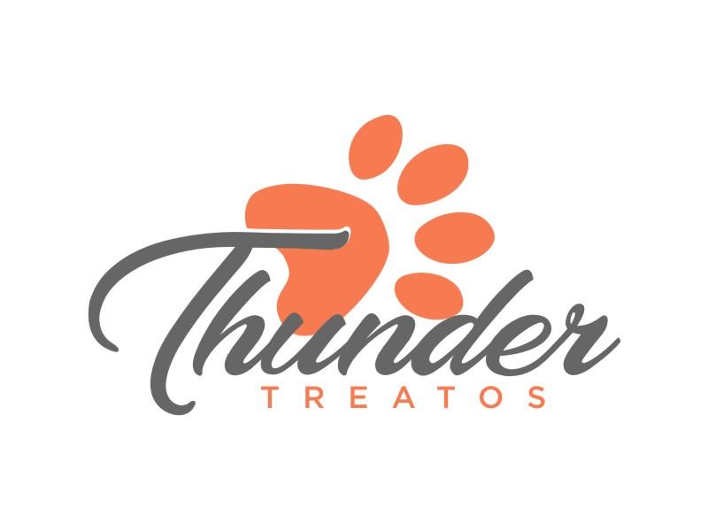 Thunder Treatos logo design by sheila valencia