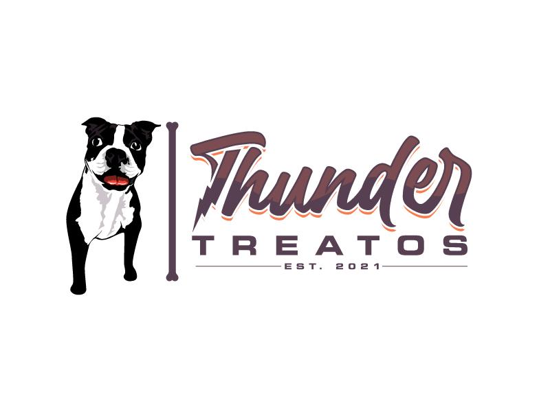 Thunder Treatos logo design by Suvendu