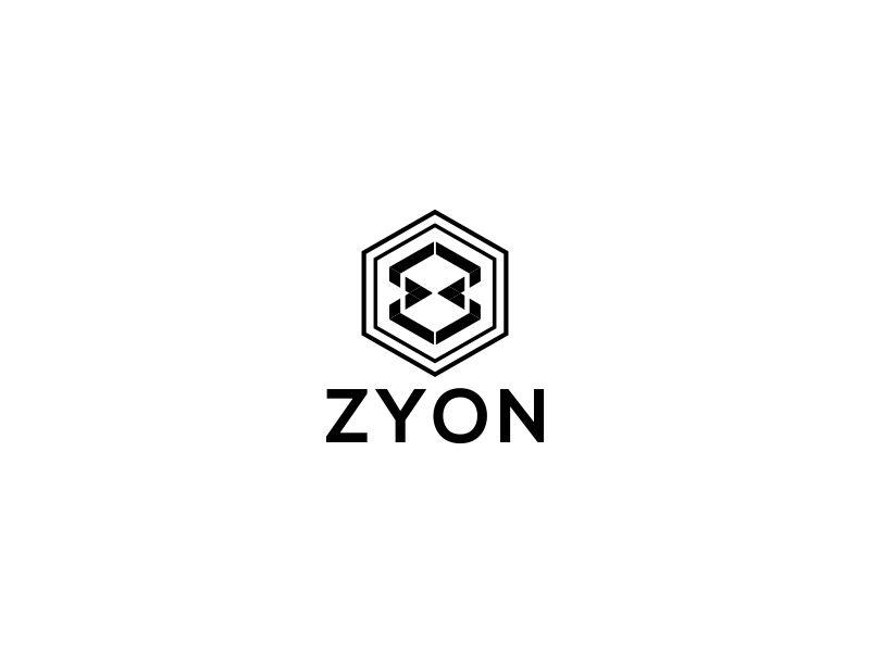 ZYON logo design by MUNAROH
