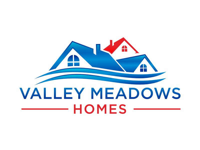 Valley Meadows Homes logo design by hidro