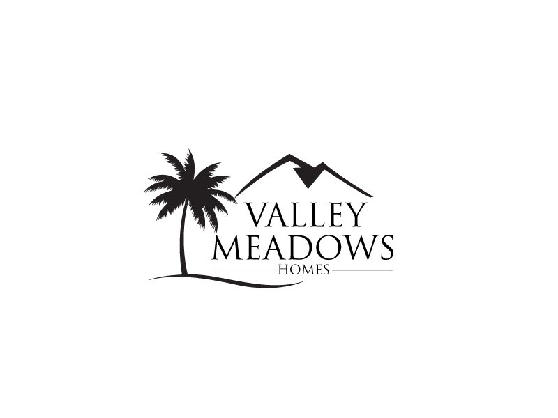 Valley Meadows Homes logo design by leduy87qn