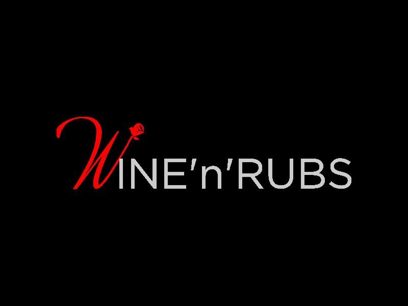 Wine'n'Rubs logo design by Adundas