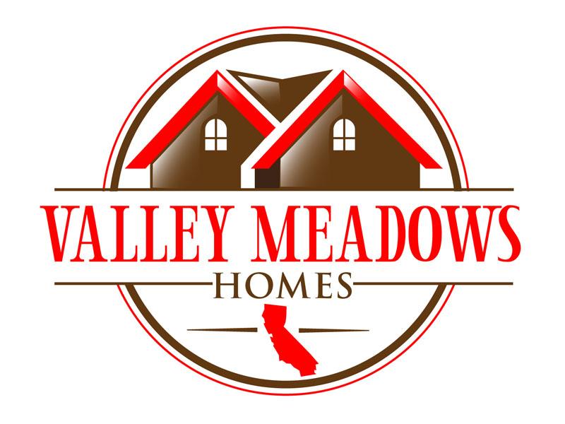 Valley Meadows Homes logo design by DreamLogoDesign
