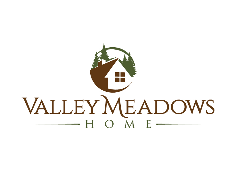 Valley Meadows Homes logo design by jaize