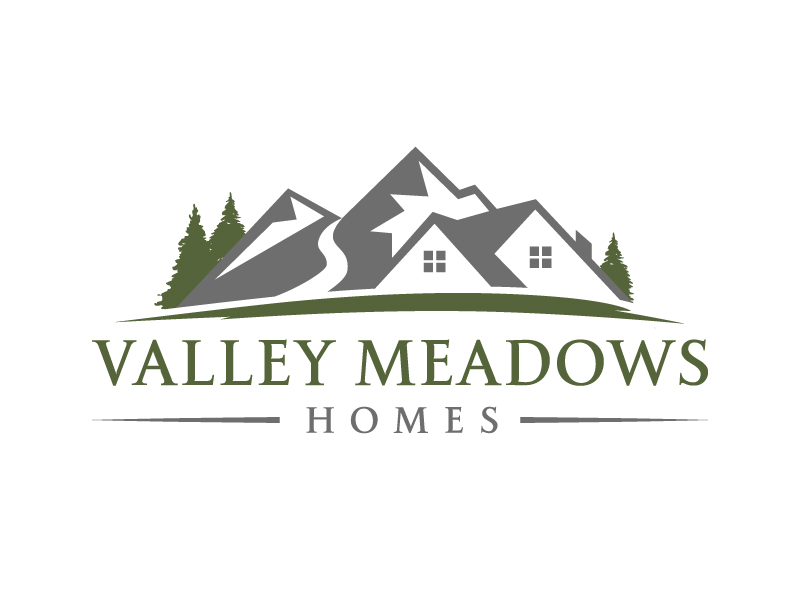 Valley Meadows Homes logo design by akilis13