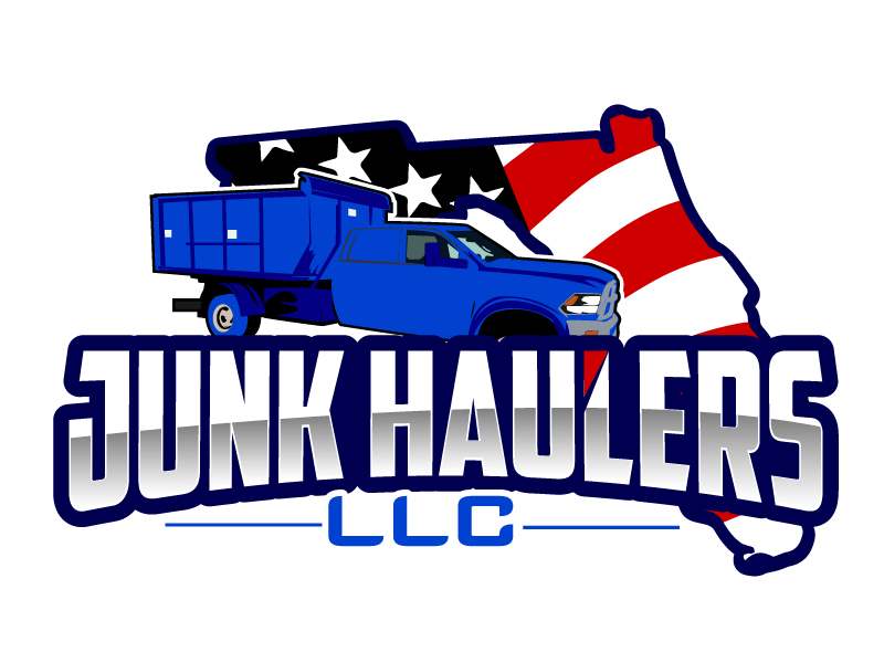 Junk Haulers LLC logo design by ElonStark