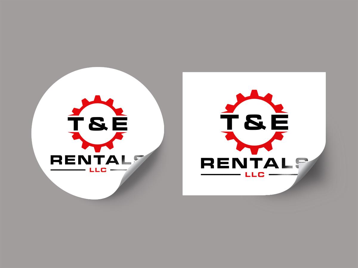 T&E Rentals LLC logo design by Thuwan Aslam Haris