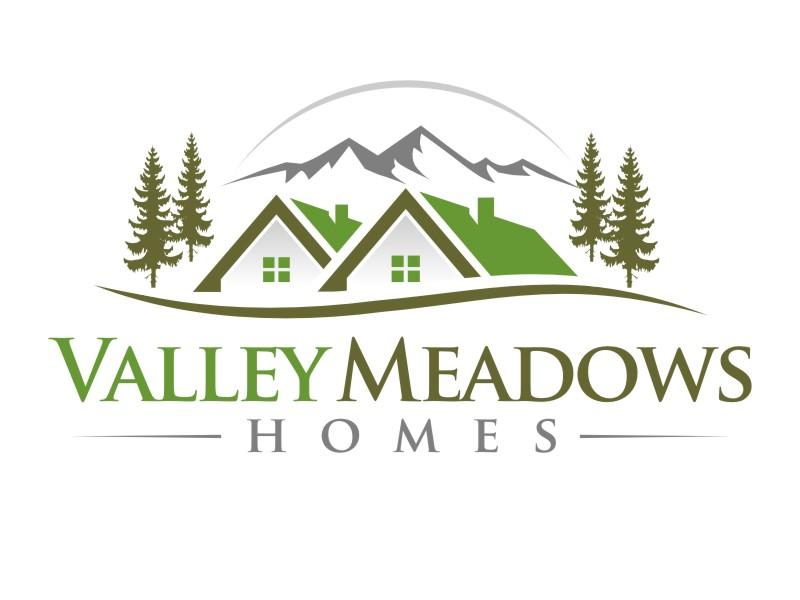 Valley Meadows Homes logo design by haze