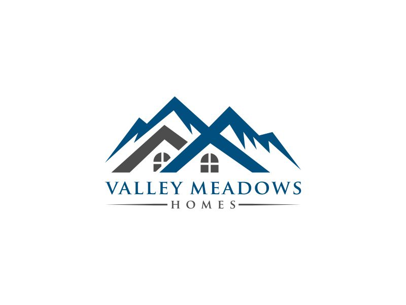Valley Meadows Homes logo design by valace