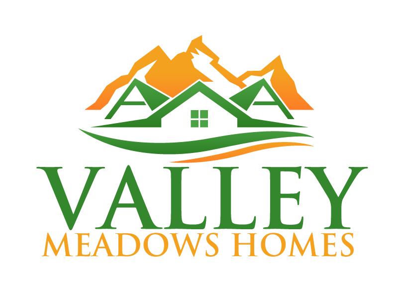 Valley Meadows Homes logo design by ElonStark