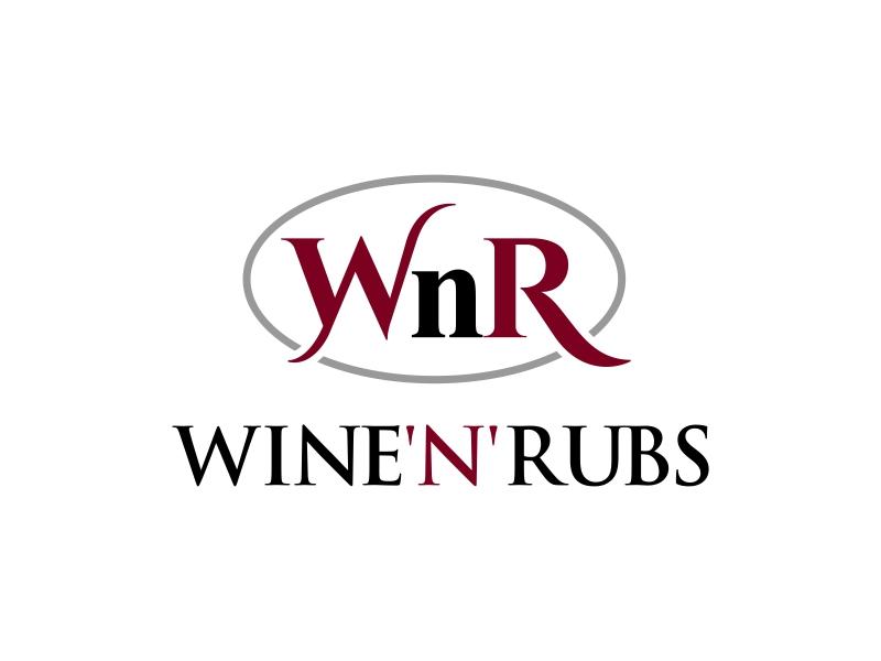Wine'n'Rubs logo design by ingepro