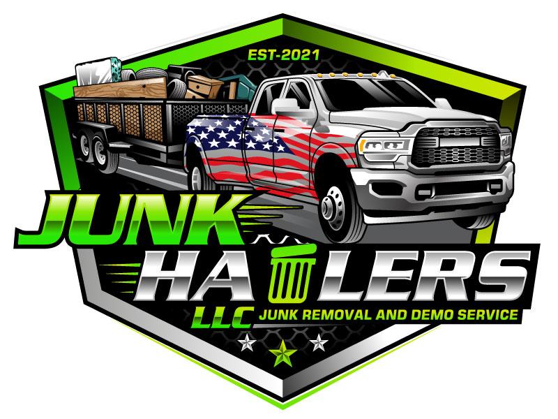 Junk Haulers LLC logo design by Suvendu