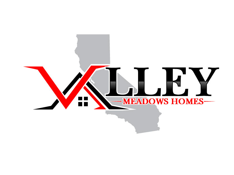 Valley Meadows Homes logo design by Suvendu