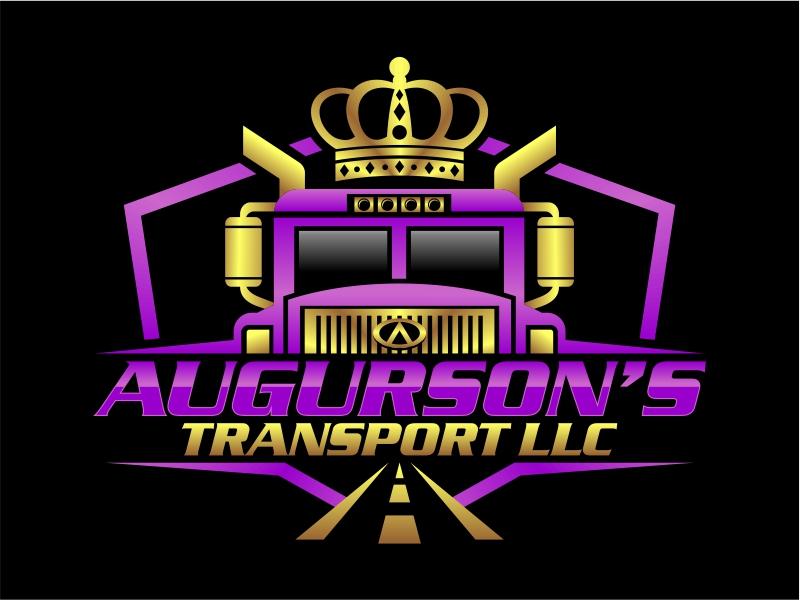 Augurson's Transport LLC logo design by cintoko