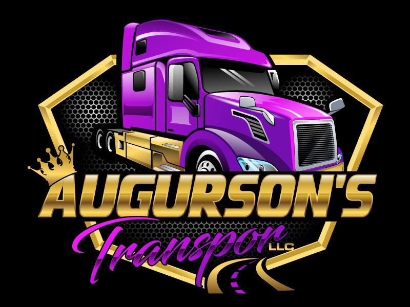 Augurson's Transport LLC logo design by Suvendu