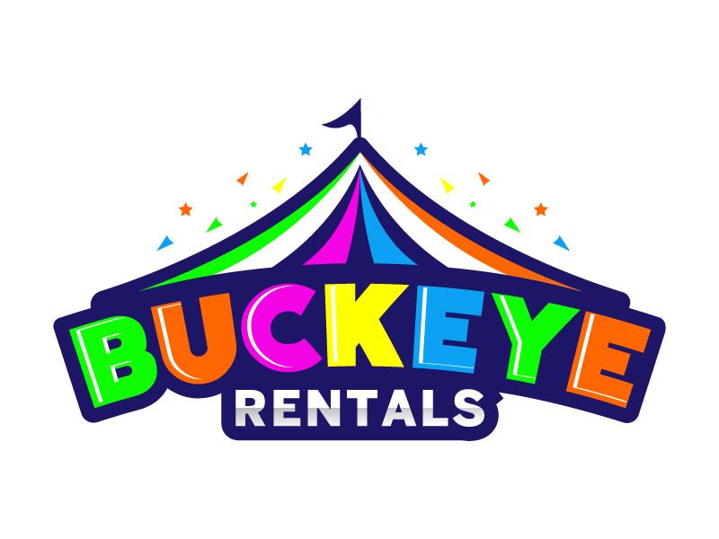 Buckeye Rentals Logo Design