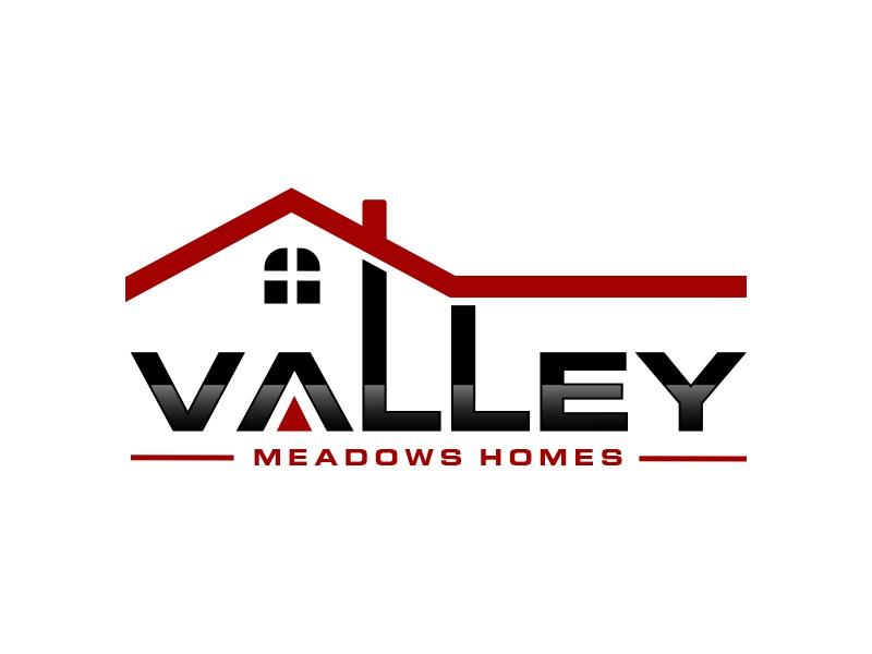 Valley Meadows Homes logo design by Mahrein