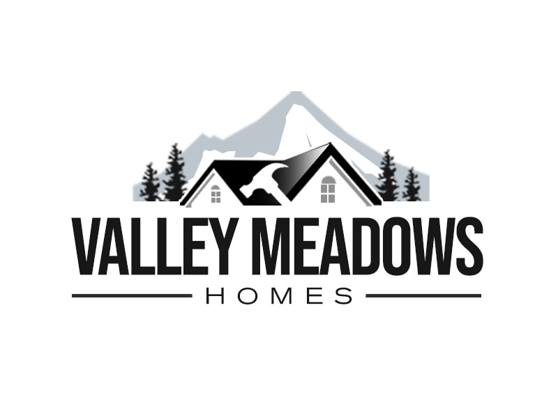 Valley Meadows Homes logo design by kunejo
