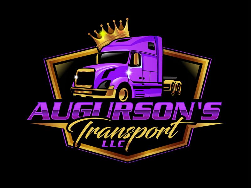 Augurson's Transport LLC logo design by DreamLogoDesign