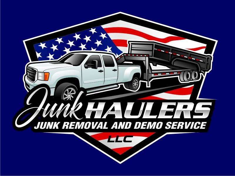 Junk Haulers LLC logo design by haze