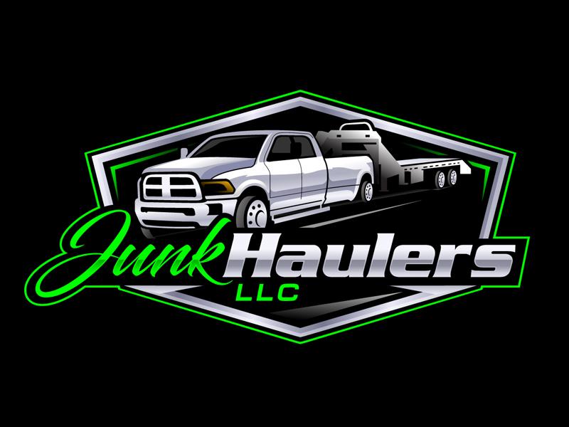 Junk Haulers LLC logo design by DreamLogoDesign