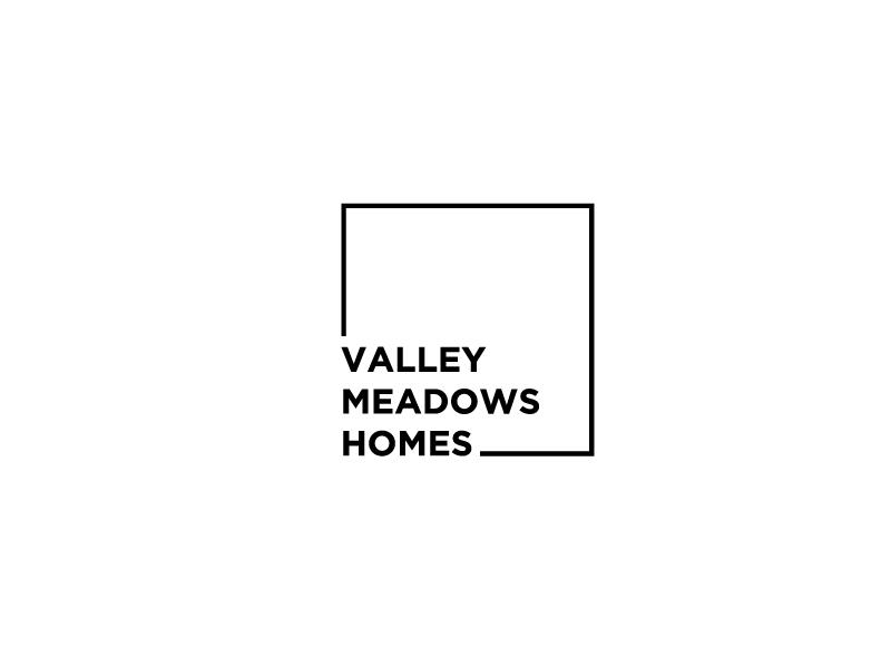 Valley Meadows Homes logo design by bigboss