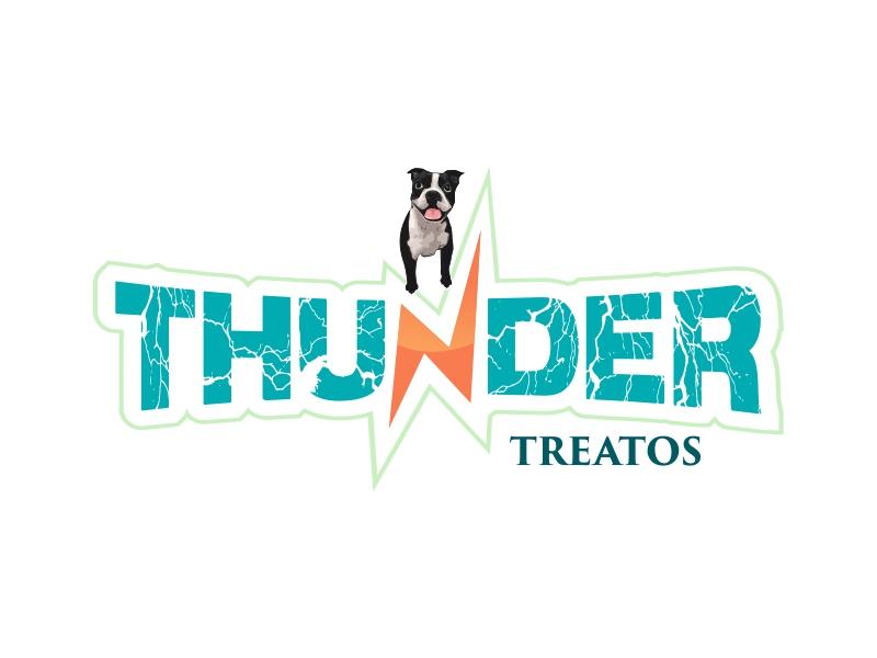 Thunder Treatos logo design by AnandArts