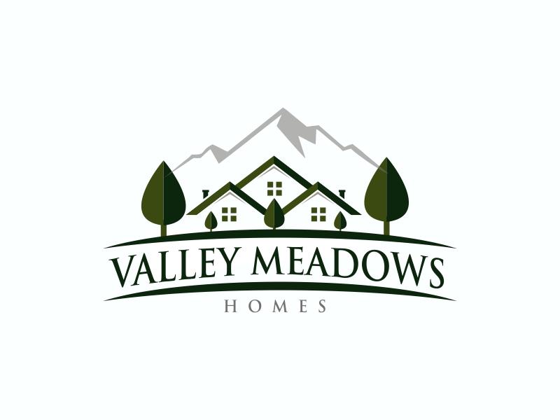 Valley Meadows Homes logo design by ian69
