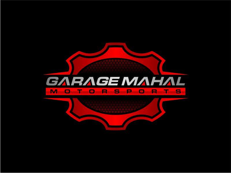 Garage Mahal Motorsports logo design by fadlan