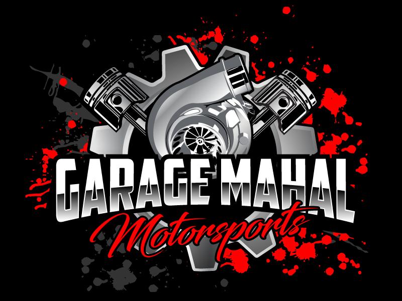 Garage Mahal Motorsports logo design by ElonStark
