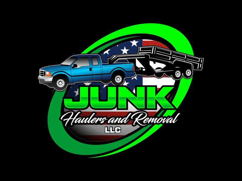 Junk Haulers LLC logo design by beejo
