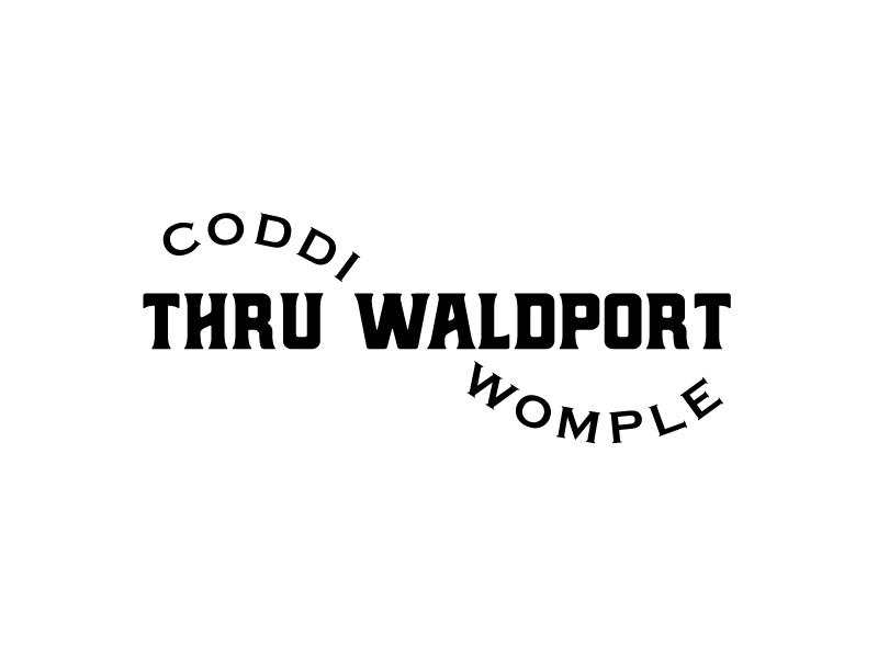 Coddiwomple Thru Waldport Logo Design