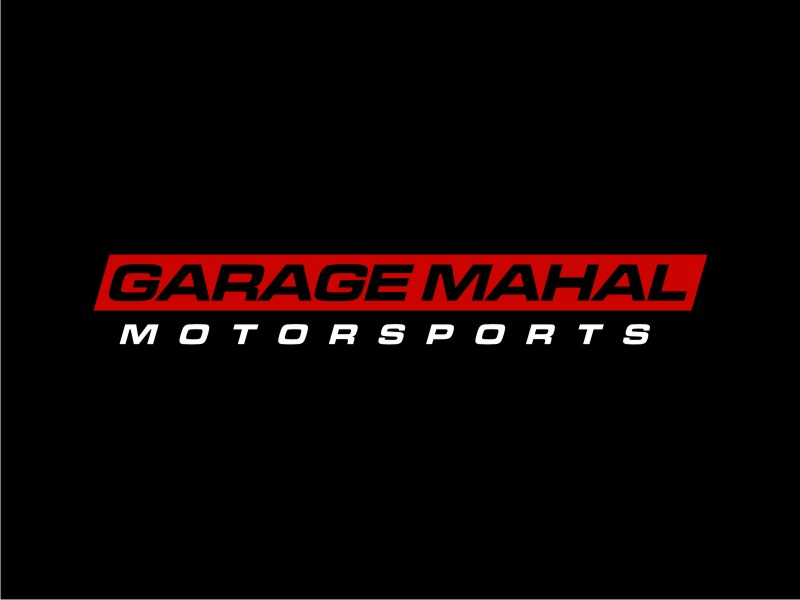 Garage Mahal Motorsports logo design by sodimejo
